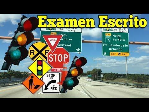 Examen Escrito de Manejo 2018 Preguntas del Test Teorico DMV en Español