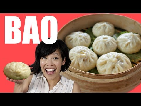 How to make BAO from the movie Bao - Chinese steamed bun recipe
