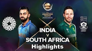 India Vs South Africa Icc Champion Trophy 2017 Highlights IndVsRSa Highlights CT2017