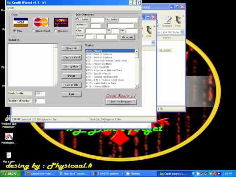 how to hack credi card