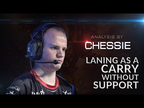 Laning as a Carry Without Support | How To Play Dota 2 | PVGNA.com