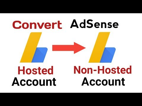 Convert Hosted AdSense to Non Hosted account (Fully Approved account)