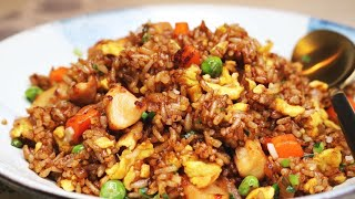 Download BETTER THAN TAKEOUT AND EASY! Chinese Chicken Fried Rice Recipe Video