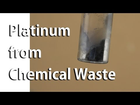 Platinum Recovery from Laboratory Chemical Waste (Pt 2)