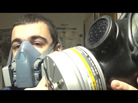 Can a Gas Mask/Respirator protect you from Smoke?