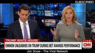 CNN Panel Reacts to Eminem DISSTRACK ON Trump!
