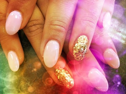 ALMOND SHAPED   ACRYLIC NAILS STEP BY STEP TUTORIAL   PART 3