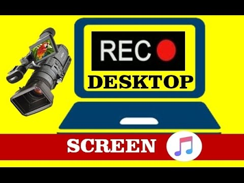how to record desktop screen with sound in computer or laptop