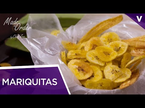 Mariquitas Cubanas | Plantain Chips | Made To Order | Chef Zee Cooks