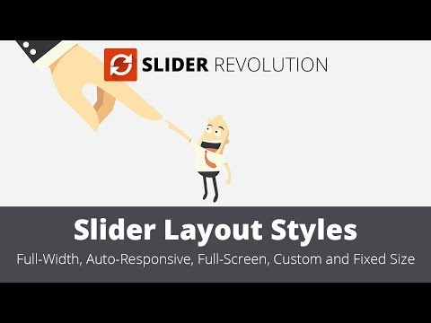 Slider Revolution 4.0 - Layout Styles