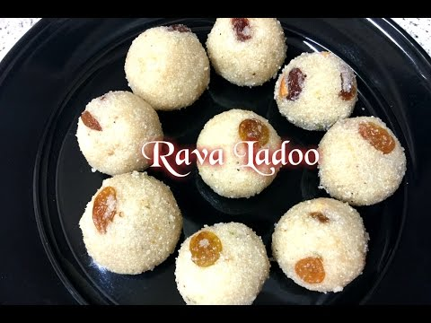 Rava ladoo recipe | sooji ladoo recipe | Quick and easy festive sweet recipe