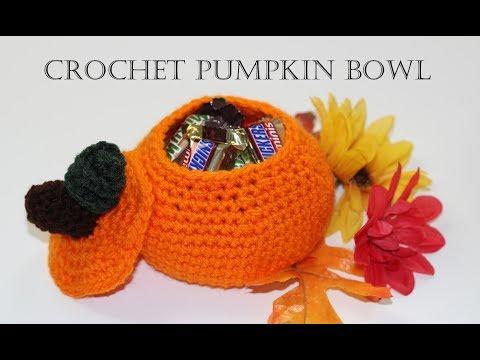 Crochet for Beginners #28 Pumpkin Bowl