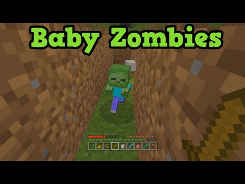 Minecraft Xbox 360 + PS3: Baby Zombies & Chicken Jockeys