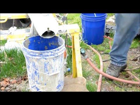 Superplasticizer Air-Crete Test & 32 oz water flow rate per minute