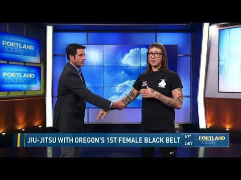 Jiu-Jitsu with Oregon's 1st female black belt