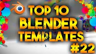 Top 10 Best Blender 3D Intro Templates #22 – FREE DOWNLOADS
