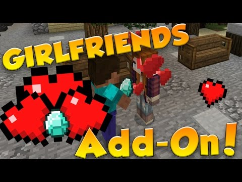 THE LADIE'S MAN! | Girlfriends Add-On | MCPE Add-On Review
