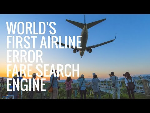 How to Find Airline Error Fares / Mistake Fares Quickly