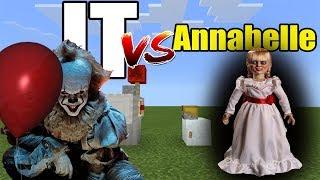 IT vs Annabelle | Minecraft PE