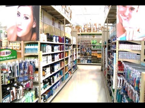 Menards - Health & Beauty Section