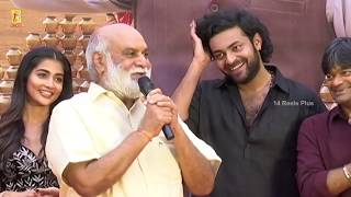 Director K Raghavendra Rao Speech @ Valmiki - Velluvachi Godaramma Song Launch Event | 14 Reels Plus
