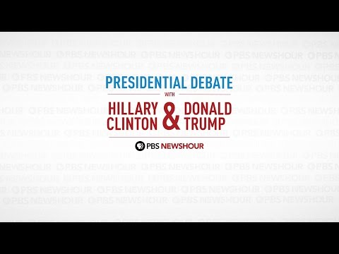 Watch the full first presidential debate between Hillary Clinton and Donald Trump