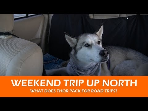 Weekend Trip to Alpena  |  What do I pack for Thor?