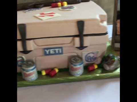 YETI Cooler Grooms Cake