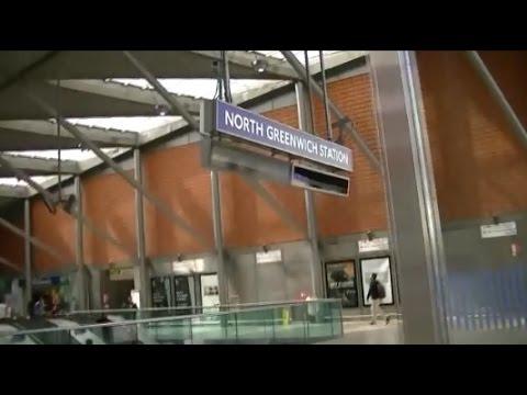 NORTH GREENWICH STATION LONDON