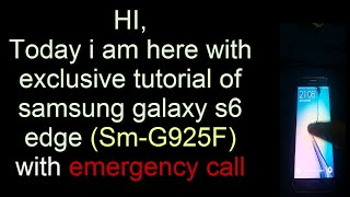 G920P convert to G920F v7 0 fix Network Emergency Call Only
