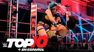 Top 10 Mejores Momentos de Raw En Español: WWE Top 10, Jul 6, 2020