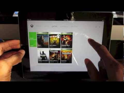 Xbox 360 with iPad- How to control