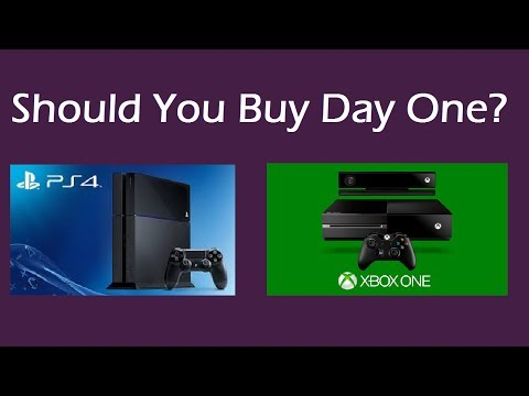 Should You Buy Xbox One or PS4 Day One?