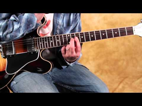 Blues guitar tricks - double stops inspired by BB King and SRV