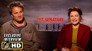 Download Jason Clarke and Amy Seimetz Interview for Pet Sematary Video