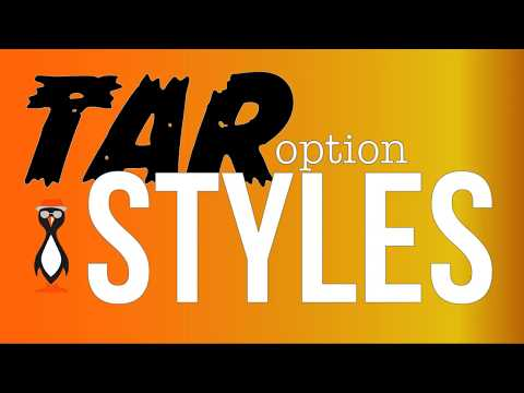 GNU Tar Options Syles