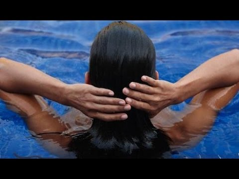 How To Protect Hair From Pool Water Chemicals