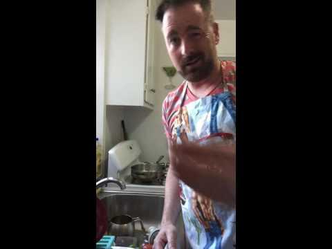 Pampered chef garlic press.