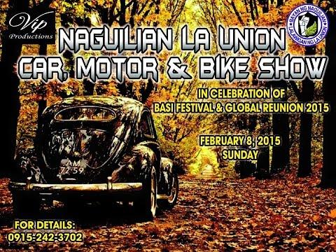 Naguilian,La Union 1st Motor Car Show