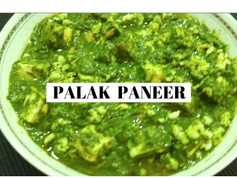 Best Palak Paneer ever | Spinach with Cottage Cheese | Healthy Indian Veg Recipe - CurryfortheSoul