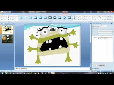 Storytelling using PowerPoint