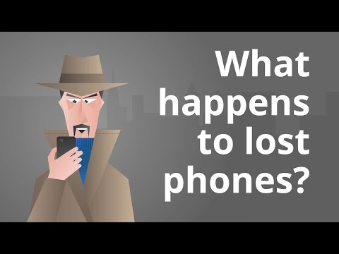 What Happens to a Lost Smartphone?
