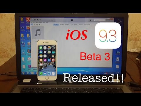 iOS 9.3 Beta 3 Released, How To Install iOS 9.3 Beta 3 On Any iPhone,iPad or iPod Touch NO JAILBREAK