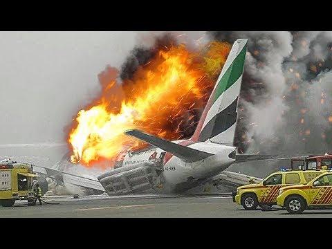 Desperate Escape | Boeing 777 Crash in Dubai | Emirates Airlines Flight 521 | 4K