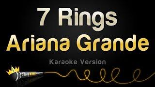 Ariana Grande  7 Rings Karaoke Version