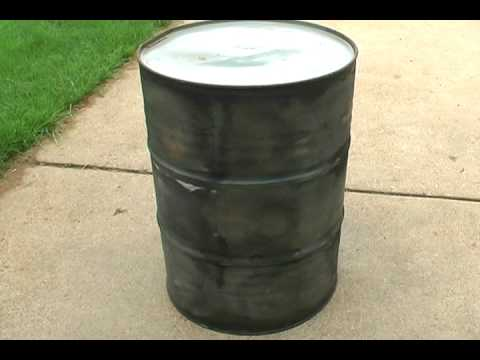 how to build a drum smoker