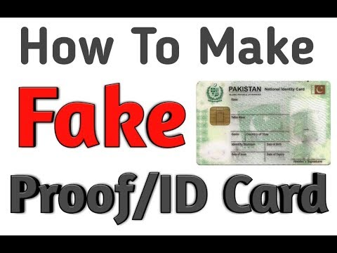 How To Make Fake Proof/ID Card for FB in 5 Minutes | Part-2 | 2018 | Hunters