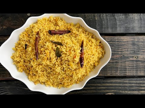 Chuti Khichri or Curried Rice with Red Lentils in Gujarati with Raihana's Cuisines