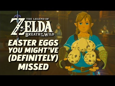 Zelda: Breath of the Wild Easter Eggs You Might've (Definitely) Missed