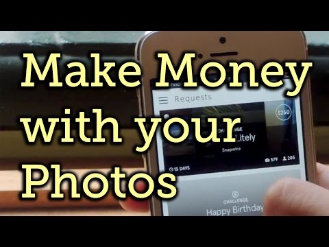 Make Money from Your iPhone Photos with Snapwire [How-To]